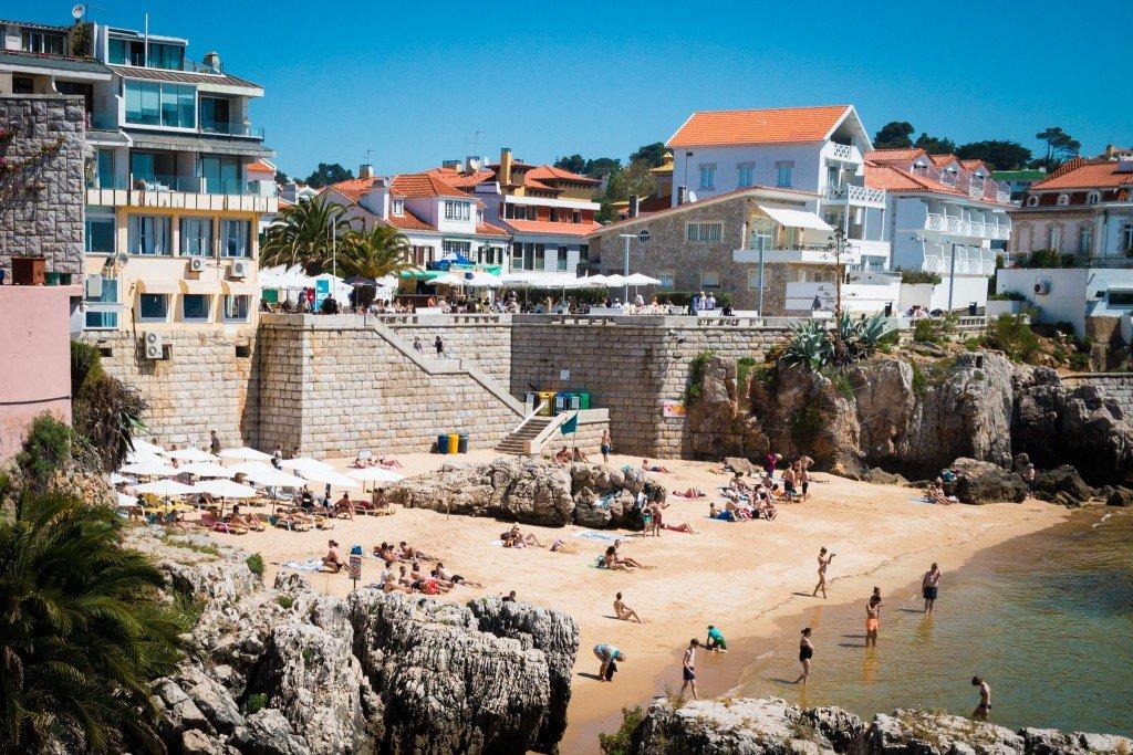 Praia da Rainha beach, Cascais, Lisbon