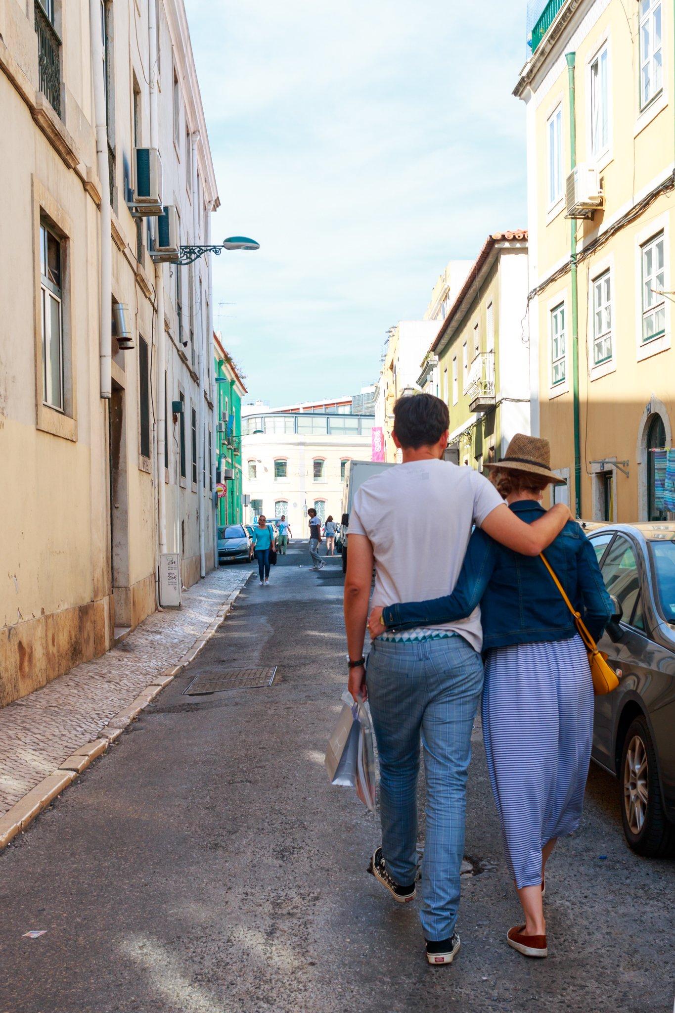 Couple, Alcântara, Lisbon