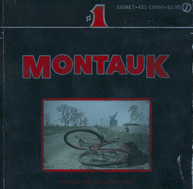 Montauk Stranger Things Bible Cover