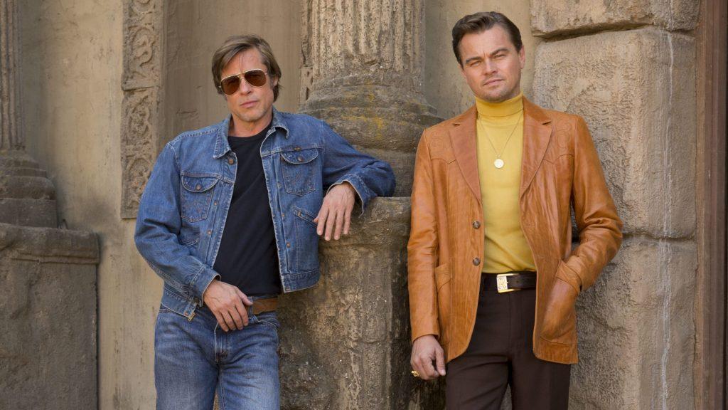 OUATIH Brad Pitt Leonardo DiCaprio